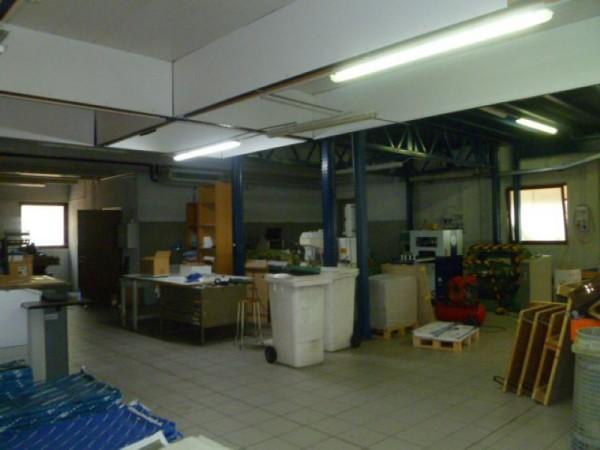 Capannone in vendita a Gallarate, Sciarè, Con giardino, 1035 mq - Foto 56
