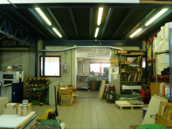 Capannone in vendita a Gallarate, Sciarè, Con giardino, 1035 mq - Foto 49