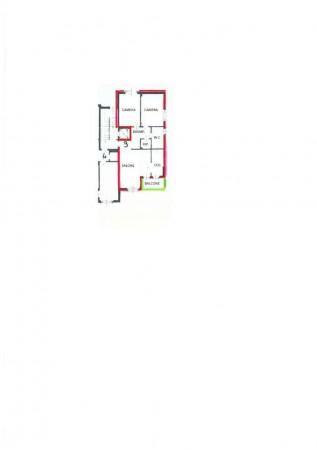 Appartamento in vendita a Alpignano, Semi-centrale, Con giardino, 90 mq - Foto 17