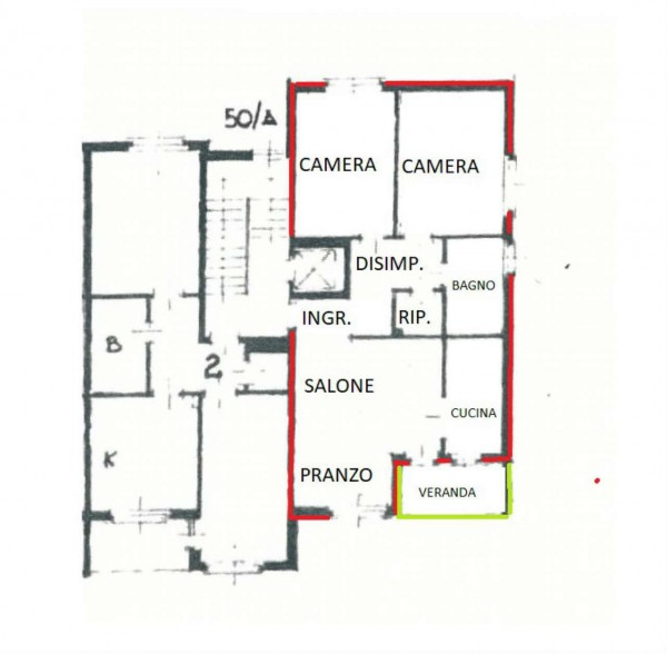Appartamento in vendita a Alpignano, Semi-centrale, Con giardino, 90 mq - Foto 2