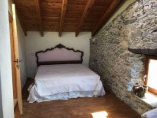Casa indipendente in vendita a Avegno, Vescina, Con giardino, 90 mq - Foto 9