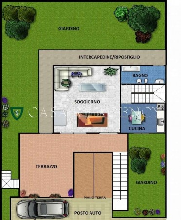 Villa in vendita a Varese, Con giardino, 240 mq - Foto 2