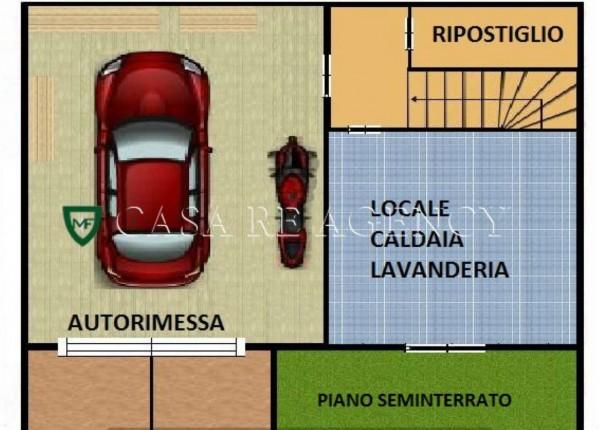 Villa in vendita a Varese, Con giardino, 240 mq - Foto 4
