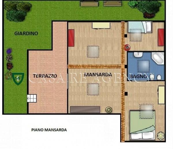 Villa in vendita a Varese, Con giardino, 240 mq - Foto 3