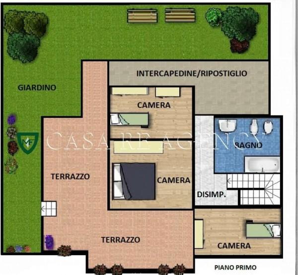 Villa in vendita a Varese, Con giardino, 240 mq - Foto 5