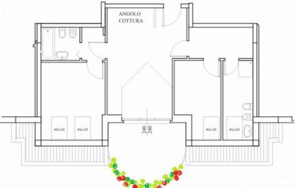 Appartamento in vendita a Gallarate, Centrale, 80 mq - Foto 2