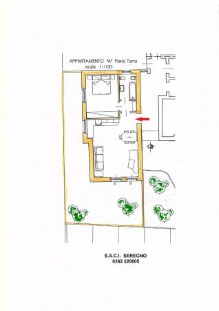 Appartamento in vendita a Cabiate, Centro, Con giardino, 70 mq - Foto 2