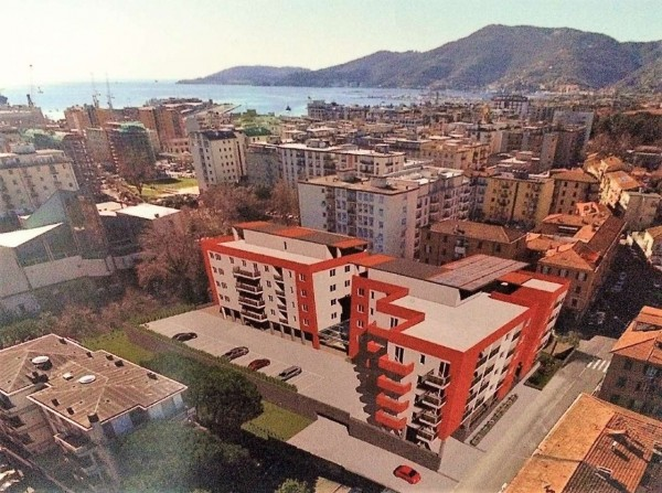 Appartamento in vendita a La Spezia, Migliarina, Con giardino, 120 mq