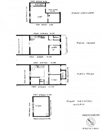 Villetta a schiera in vendita a Buccinasco, I Maggio, Con giardino, 280 mq - Foto 2