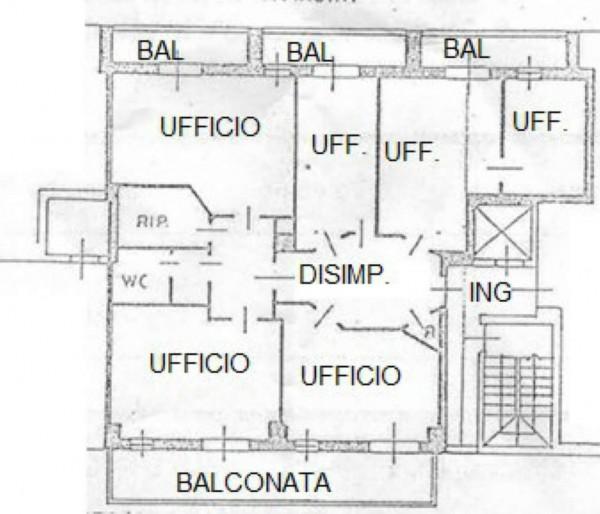 Ufficio in affitto a Milano, Bocconi, 140 mq - Foto 2