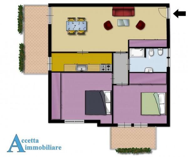 Appartamento in vendita a Taranto, Residenziale, Con giardino, 111 mq - Foto 2