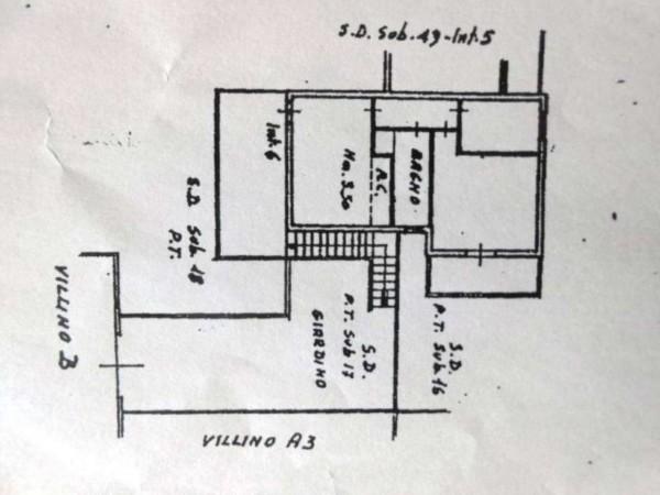 Villetta a schiera in vendita a Anzio, Cincinnato, Con giardino, 55 mq - Foto 2