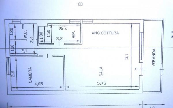 Appartamento in vendita a Anzio, Cincinnato Mare, Arredato, 60 mq - Foto 21