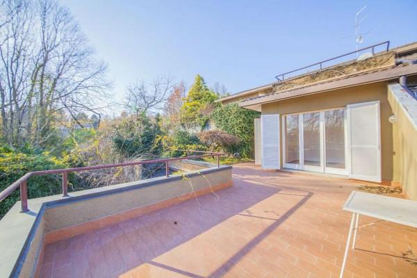 Villetta a schiera in vendita a Bregano, Con giardino, 127 mq - Foto 23
