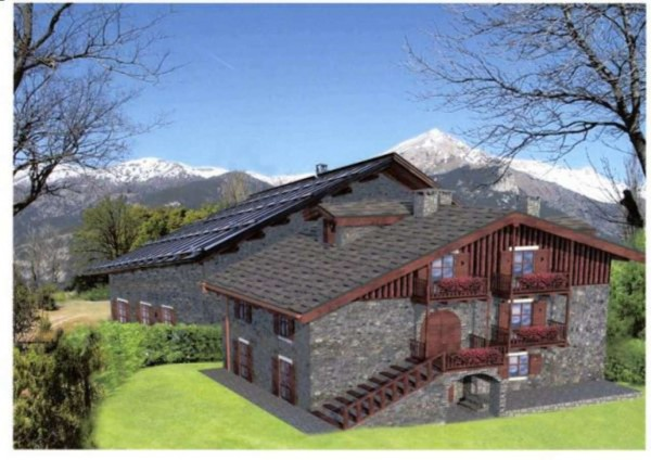 Casa indipendente in vendita a Oulx, Oulx, 450 mq