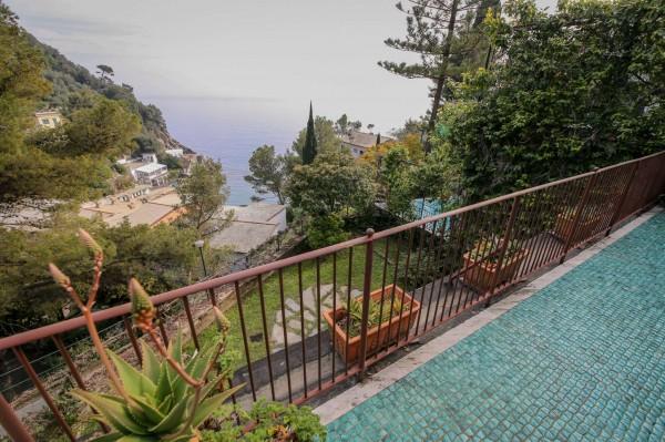 Villa in vendita a Zoagli, Marina Di Bardi, Con giardino, 267 mq