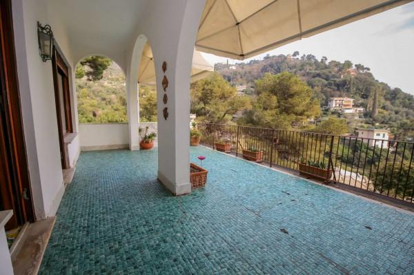 Villa in vendita a Zoagli, Marina Di Bardi, Con giardino, 267 mq - Foto 16