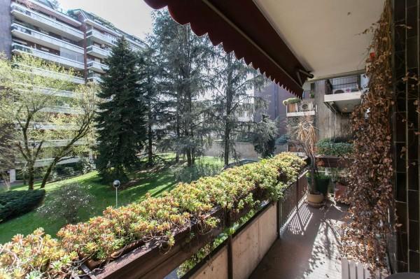 Appartamento in vendita a Milano, Cenisio, Con giardino, 130 mq - Foto 6