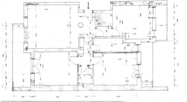 Appartamento in vendita a Milano, Cenisio, Con giardino, 130 mq - Foto 3