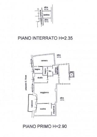 Appartamento in vendita a Milano, Corvetto, Con giardino, 110 mq - Foto 2