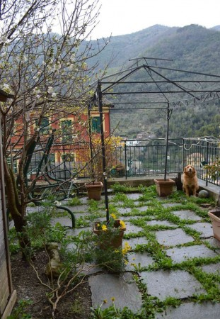 Appartamento in vendita a Avegno, Centro, Con giardino, 75 mq
