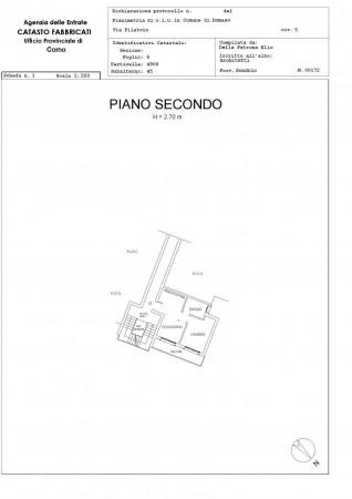 Appartamento in vendita a Domaso, Centro - Piazza Roma, Arredato, con giardino, 50 mq - Foto 2