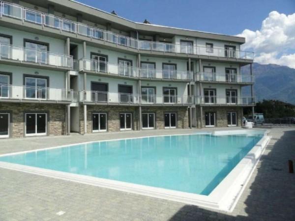 Appartamento in vendita a Domaso, Centro - Piazza Roma, Arredato, con giardino, 50 mq - Foto 1