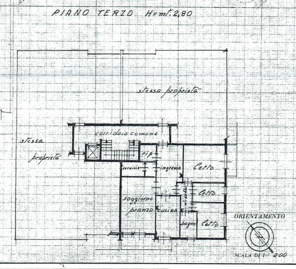 Appartamento in vendita a Padova, Voltabarozzo, Con giardino, 135 mq - Foto 2