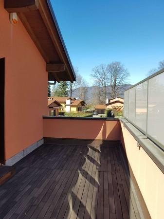 Villa in vendita a Galliate Lombardo, Arredato, con giardino, 126 mq - Foto 48