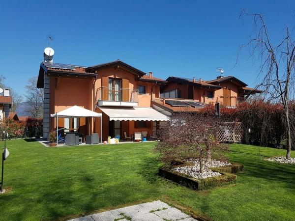 Villa in vendita a Galliate Lombardo, Arredato, con giardino, 126 mq - Foto 85