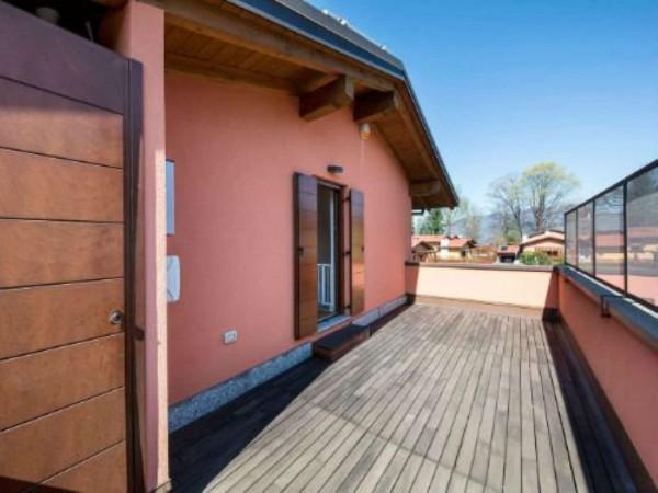 Villa in vendita a Galliate Lombardo, Arredato, con giardino, 126 mq - Foto 7
