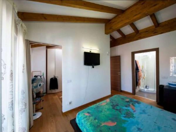 Villa in vendita a Galliate Lombardo, Arredato, con giardino, 126 mq - Foto 14