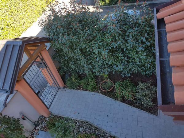 Villa in vendita a Galliate Lombardo, Arredato, con giardino, 126 mq - Foto 49