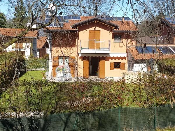 Villa in vendita a Galliate Lombardo, Arredato, con giardino, 126 mq - Foto 44