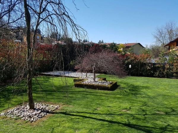 Villa in vendita a Galliate Lombardo, Arredato, con giardino, 126 mq - Foto 39