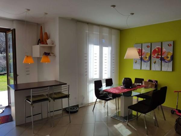 Villa in vendita a Galliate Lombardo, Arredato, con giardino, 126 mq - Foto 57