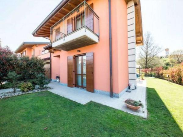 Villa in vendita a Galliate Lombardo, Arredato, con giardino, 126 mq - Foto 12