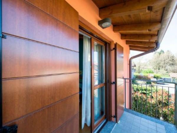 Villa in vendita a Galliate Lombardo, Arredato, con giardino, 126 mq - Foto 6