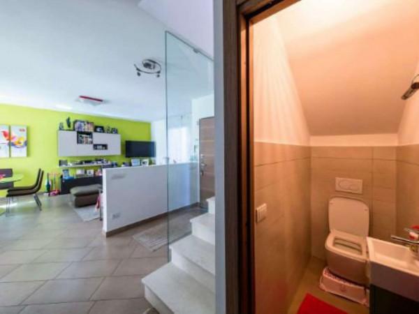 Villa in vendita a Galliate Lombardo, Arredato, con giardino, 126 mq - Foto 20