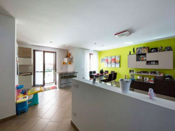 Villa in vendita a Galliate Lombardo, Arredato, con giardino, 126 mq - Foto 29