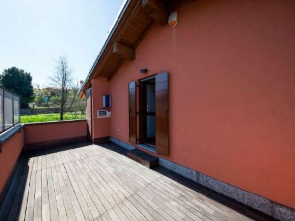 Villa in vendita a Galliate Lombardo, Arredato, con giardino, 126 mq - Foto 9
