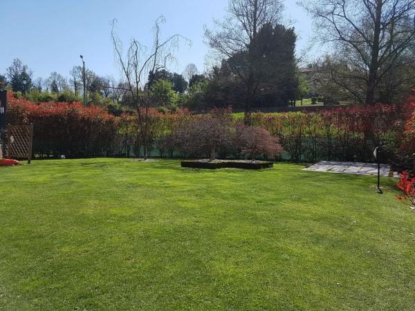 Villa in vendita a Galliate Lombardo, Arredato, con giardino, 126 mq - Foto 47