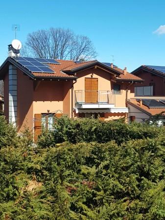 Villa in vendita a Galliate Lombardo, Arredato, con giardino, 126 mq - Foto 59