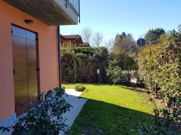 Villa in vendita a Galliate Lombardo, Arredato, con giardino, 126 mq - Foto 51