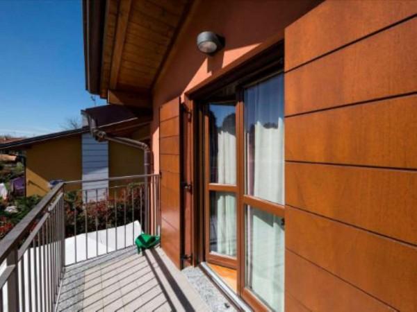 Villa in vendita a Galliate Lombardo, Arredato, con giardino, 126 mq - Foto 19