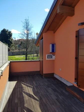 Villa in vendita a Galliate Lombardo, Arredato, con giardino, 126 mq - Foto 73