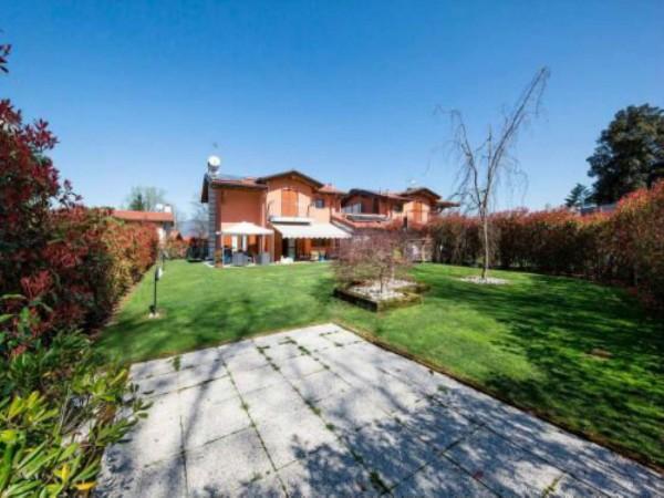 Villa in vendita a Galliate Lombardo, Arredato, con giardino, 126 mq - Foto 10