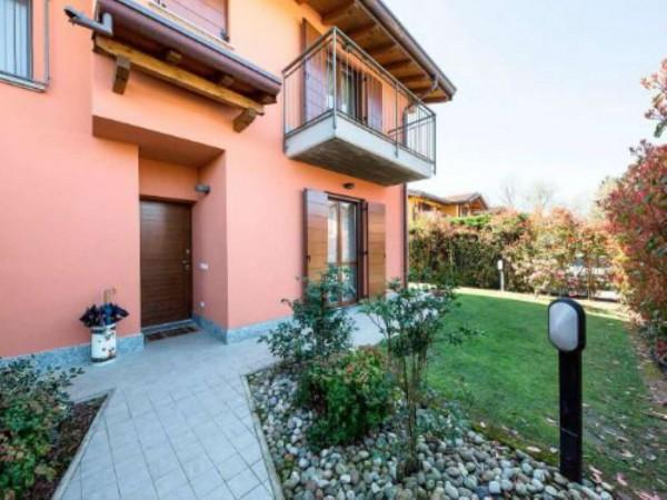 Villa in vendita a Galliate Lombardo, Arredato, con giardino, 126 mq - Foto 22