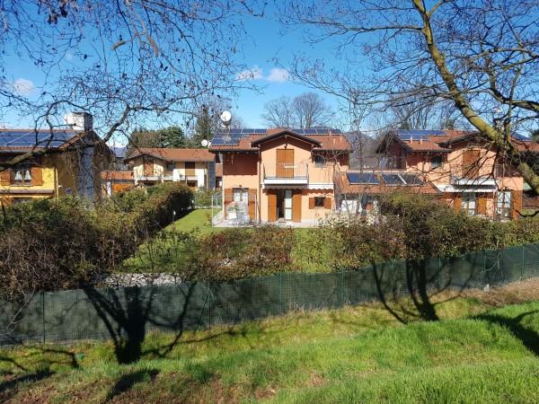 Villa in vendita a Galliate Lombardo, Arredato, con giardino, 126 mq - Foto 50