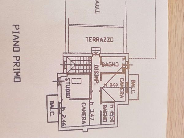 Villa in vendita a Galliate Lombardo, Arredato, con giardino, 126 mq - Foto 33